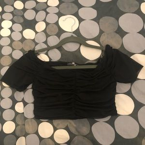 Mendocino Cropped Dressy Top (Size S)